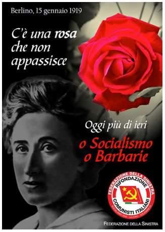 """""""Chi non si muove, non può rendersi conto delle proprie catene."""" Rosa Luxemburg"""