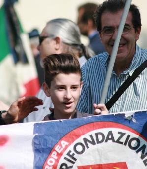 L'intervento di Edoardo Casati (già Sindaco dei ragazzi e delle ragazze a Vigevano) a nome dell'Anpi alle celebrazioni per il 25 Aprile a Cassolnovo
