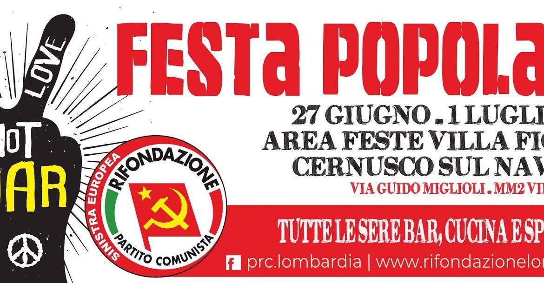 Festa regionale lombarda di Rifondazione Comunista