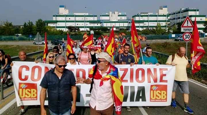 Sostegno di Potere al Popolo di Pavia alla lotta dei lavoratori e lavoratrici della Maugeri