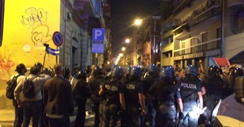 Solidarietà ad Eleonora Forenza e Antonio Perillo colpiti dai fascisti di Casa Pound alla manifestazione di Bari